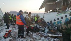 Máy bay chở 100 người rơi vỡ nát tại Kazakhstan, ít nhất 7 người thiệt mạng