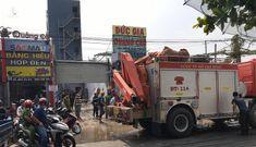 Ngáo đá dọa giết vợ con, thách thức công an ở Sài Gòn