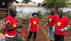 Thông điệp hòa bình của người lính Cụ Hồ trên đất Châu Phi