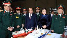 Quân đội nhân dân Việt Nam kiên quyết bảo vệ vững chắc chủ quyền lãnh thổ, biển, đảo thiêng liêng của Tổ quốc