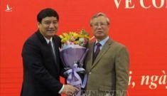 Công bố quyết định của Bộ Chính trị về việc điều động ông Nguyễn Đắc Vinh