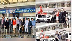 """Thủ môn Bùi Tiến Dũng đã được """"cưỡi"""" Mercedes-Benz GLC tiền tỷ về nhà"""