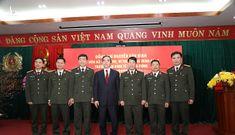 Trưởng Ban Kinh tế Trung ương Nguyễn Văn Bình làm việc với A05, Bộ Công an
