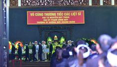 Lễ tang 3 liệt sĩ hy sinh ở Đồng Tâm: Thủ tướng xúc động tiễn đưa 3 đồng chí