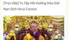 Quảng Ninh thông tin vụ việc Chùa Ba Vàng chỉ cách hóa giải virus Corona