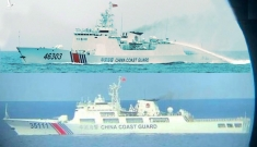 Tàu Trung Quốc chuyển hướng tiến gần bãi Tư Chính sau khi xâm phạm Indonesia