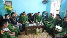 Chiều cuối năm nghẹn ngào ở gia đình Phó Trung đoàn trưởng hy sinh tại Đồng Tâm