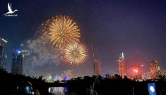 TP HCM bắn pháo hoa 7 điểm mừng xuân Canh Tý 2020