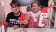 Đăng video hướng dẫn trẻ em ăn xà phòng, sữa tắm ở Việt Nam