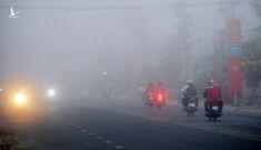 Sáng mùng 2 Tết, sương mù bao trùm miền Tây khiến nhà nông lo lắng