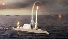 Lộ diện tàu khu trục Mỹ có thể diệt mọi mục tiêu trên thế giới chỉ mất 1 giờ
