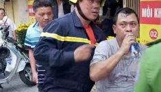 Cảnh sát PCCC cứu 2 người trong vụ cháy chiều mùng 1 Tết
