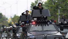 Công an TP.HCM tuần tra vũ trang các khu vực phức tạp dịp Tết