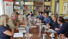 Trưởng Ban Kinh tế Trung ương Nguyễn Văn Bình thăm và làm việc tại Tây Ban Nha