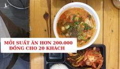 Vén màn sự thật về 20 suất ăn cho người Hàn Quốc
