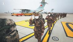 Quân đội TQ đến Vũ Hán trong chiến dịch y tế lớn nhất từ năm 2008