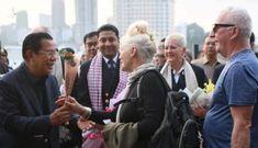 Nữ du khách Mỹ trên tàu vào Campuchia nhiễm nCoV, được Thủ tướng Hun Sen chào đón