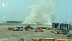 Vietnam Airlines lên tiếng về máy bay bị nổ lốp