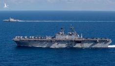 Hạm đội Mỹ tập trận trên Biển Đông thách thức Trung Quốc