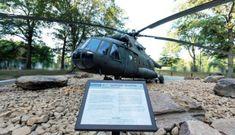 Chiếc trực thăng Nga bí ẩn trong trụ sở tình báo CIA