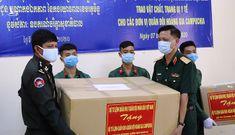 Bộ Quốc phòng Việt Nam cử chuyên gia giúp quân đội Lào chống dịch