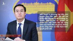 Khi Việt Nam lên tiếng, cả thế giới đồng lòng hưởng ứng, Trung Quốc đừng hòng ngang ngược