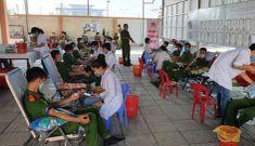 Trên 1.000 cán bộ, chiến sĩ Công an Kiên Giang hiến máu cứu người