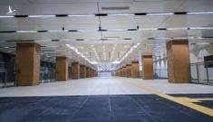 Ga ngầm metro đầu tiên của TP.HCM dần lộ diện