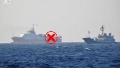 Lộ trình mới: Nhóm tàu Hải Dương 8 di chuyến hướng tới Malaysia