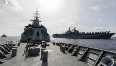Mỹ – Úc tập trận gần khu vực tàu Hải Dương địa chất 8 của Trung Quốc ở Biển Đông