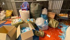 Long An thu giữ hàng tạ khẩu trang y tế đã qua sử dụng được tái chế