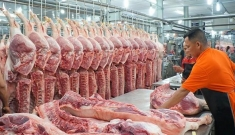 Thịt lợn nhập khẩu ồ ạt về Việt Nam