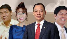 Bốn người đứng top đầu danh sách tỷ phú Việt năm 2020
