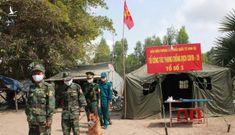 Lũy thép biên phòng chống dịch tuyến biên giới Tây Nam