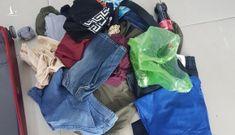 Công an mời người bỏ valy trước cửa hàng gây náo loạn ở Gò Vấp