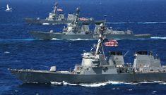 Mỹ, Singapore kéo tàu chiến ra Biển Đông, trấn áp Trung Quốc