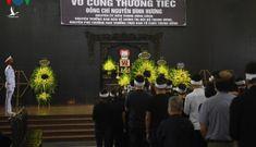 Lãnh đạo Đảng, Nhà nước viếng và tiễn biệt ông Nguyễn Đình Hương