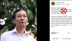 """Đôi lời về ông """"Phó chủ tịch hội"""" Nguyễn Tường Thụy"""