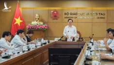 """Bộ trưởng Phùng Xuân Nhạ: Có những vùng học bạ rất """"long lanh"""""""