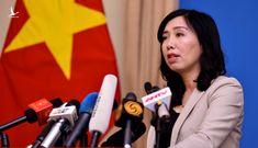 Bộ Ngoại giao lên tiếng về việc tàu cá Việt Nam bị đâm chìm