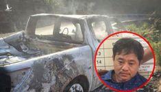 Công an thông tin vụ thi thể trên ô tô cháy sau khi bắt giữ Bí thư xã