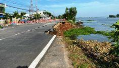 Ban bố tình trạng sạt lở nghiêm trọng Quốc lộ 91 ở miền Tây