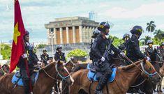 Ấn tượng hình ảnh lực lượng Cảnh sát cơ động Kỵ binh trong lễ ra mắt