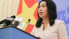 Việt Nam lên tiếng trước thông tin Trung Quốc hạ cáp ngầm ở Hoàng Sa