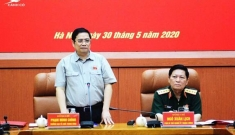 Đoàn công tác của Ban Bí thư làm việc với Ban Thường vụ Quân ủy TƯ