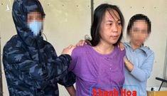 Bắt tạm giam đối tượng Nguyễn Thị Cẩm Thúy đốt cờ Tổ quốc
