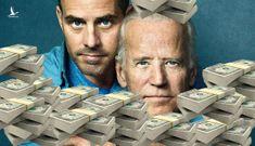 Clip Ukraina trưng bằng chứng cha con Joe Biden ăn hối lộ 6 tỷ USD chấn động nước Mỹ