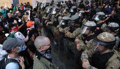 Vệ binh Quốc gia nhiễm nCoV khi đối phó biểu tình