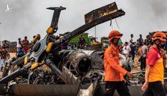 Rơi trực thăng quân sự tại Indonesia, 4 binh sĩ thiệt mạng