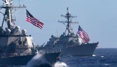 Đúng ngày tưởng niệm Thiên An Môn, Mỹ điều tàu chiến qua eo biển Đài Loan
